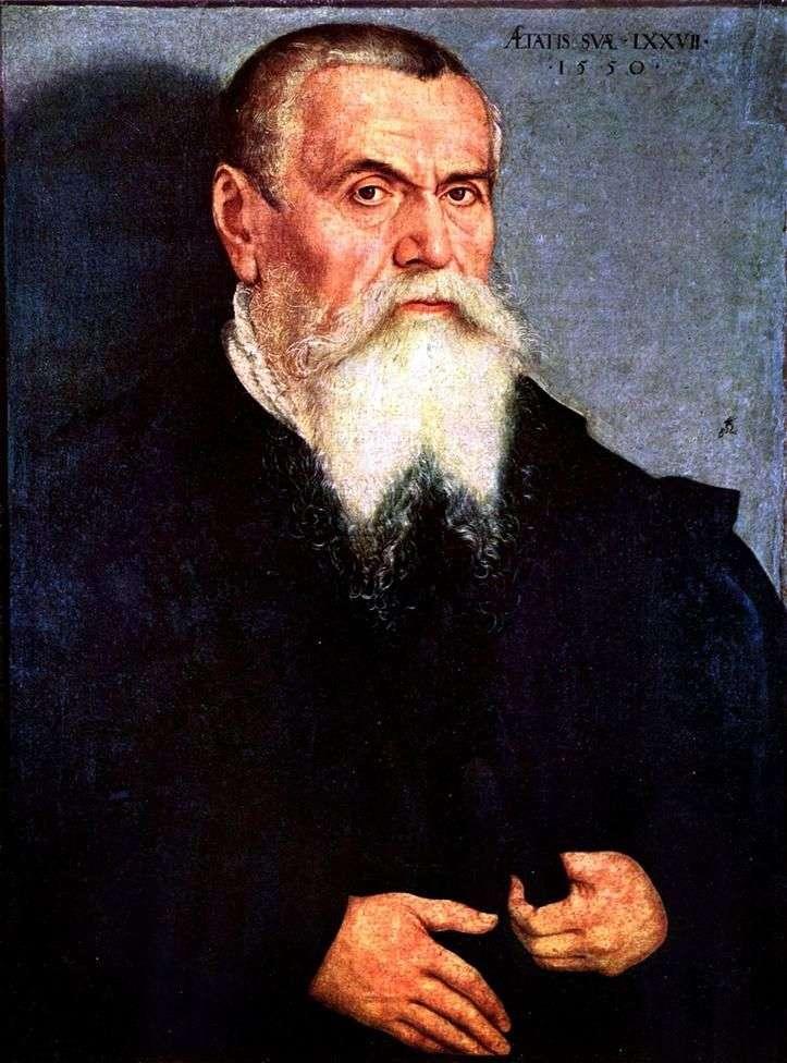 Autoportret   Lucas Cranach
