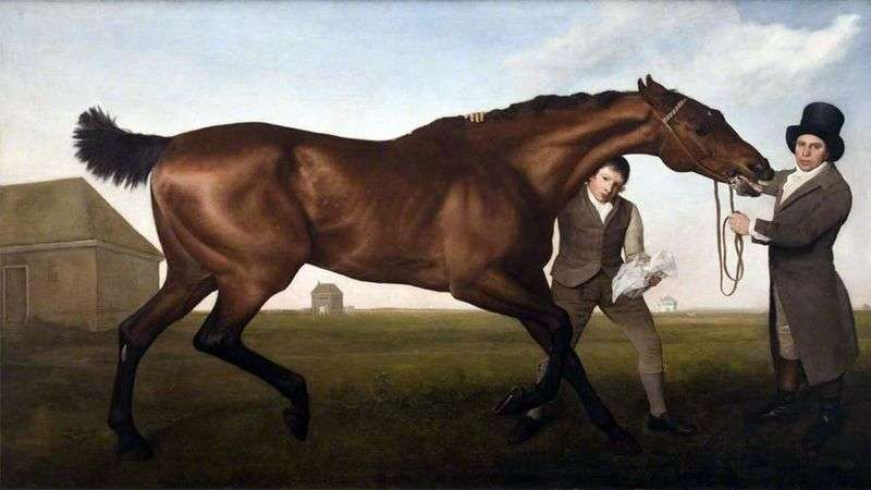 But Hambletona   George Stubbs