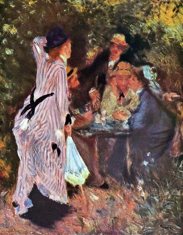 W ogrodzie (Pod drzewami w Moulins de la Galette)   Pierre Auguste Renoir