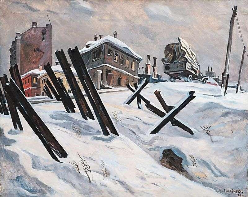 Obrzeża Moskwy. Listopad 1941 r.   Alensander Deineka