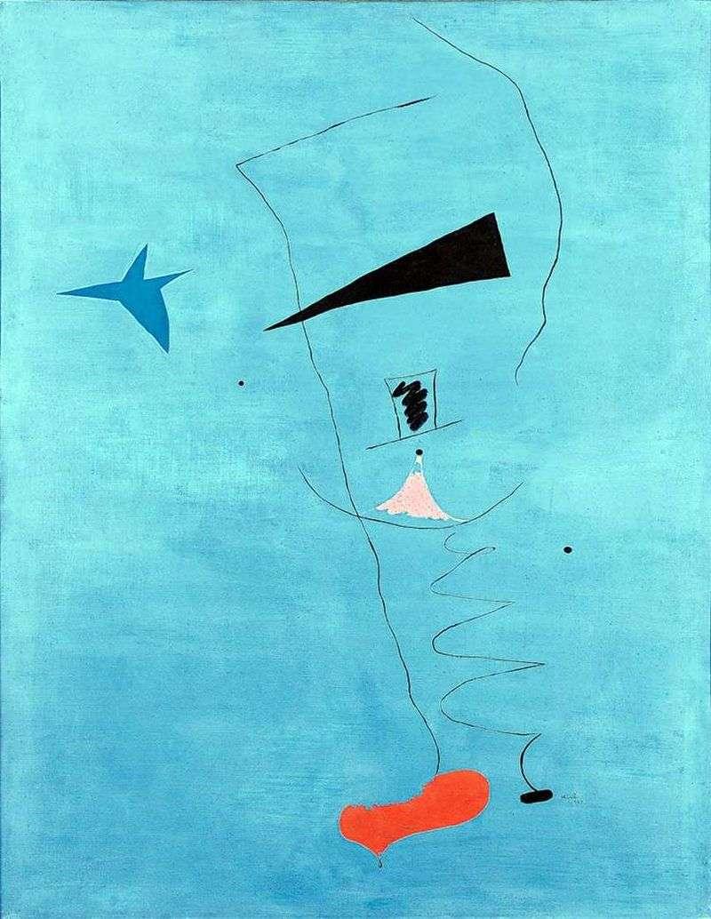 Blue Star   Juan Miro