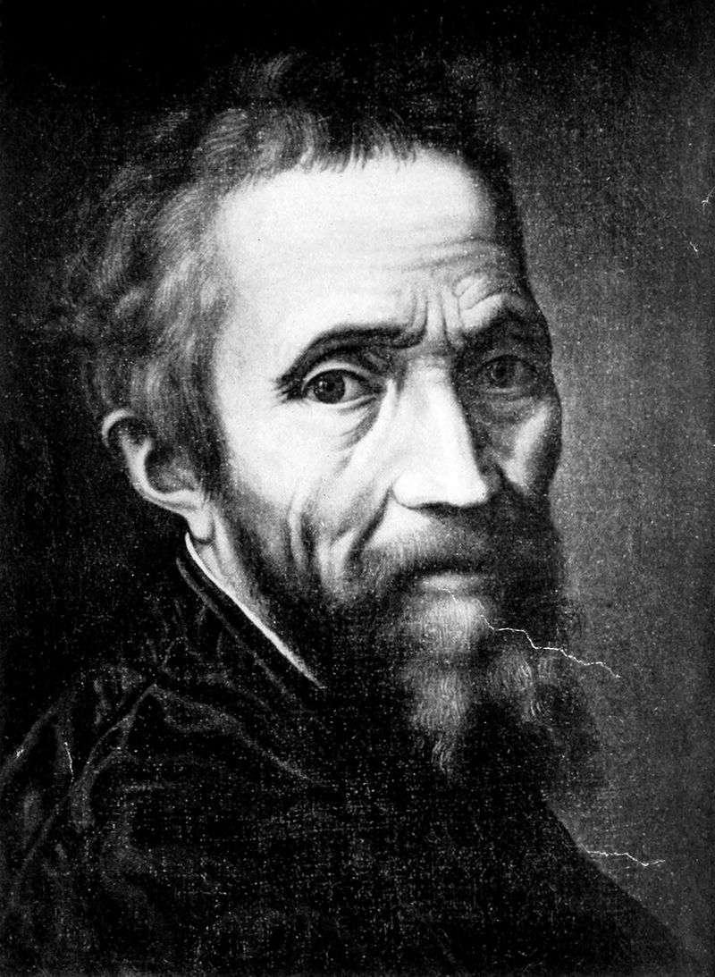 Portret Michała Anioła Buonarrotiego   Marcello Venusti