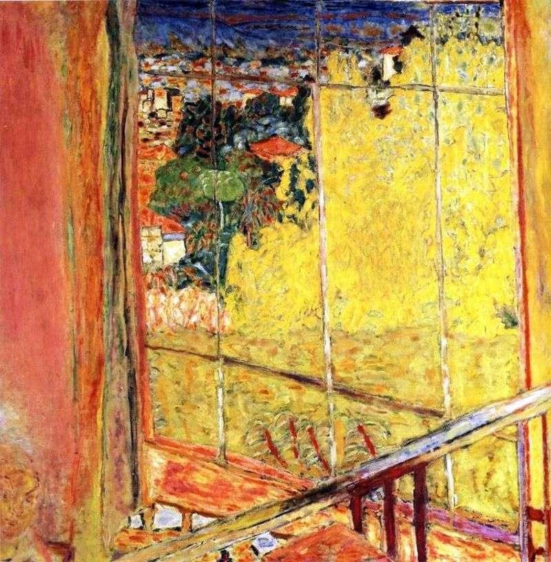 Warsztat z Mimosa   Pierre Bonnard