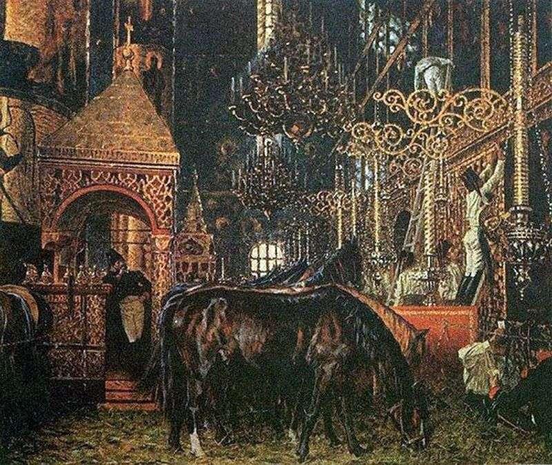 W katedrze Wniebowzięcia   Wasilij Werechagin