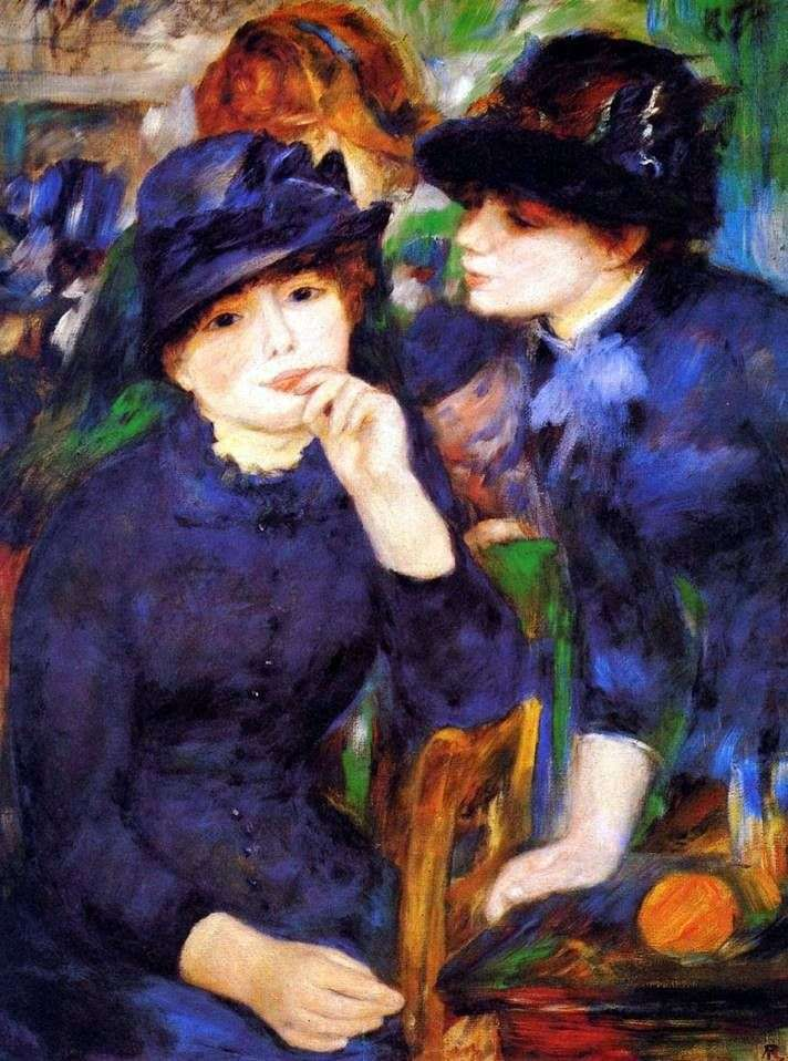 Dziewczyny w czerni   Pierre Auguste Renoir