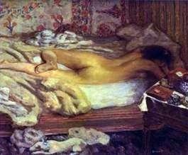 Siesta: W studiu artysty   Pierre Bonnard