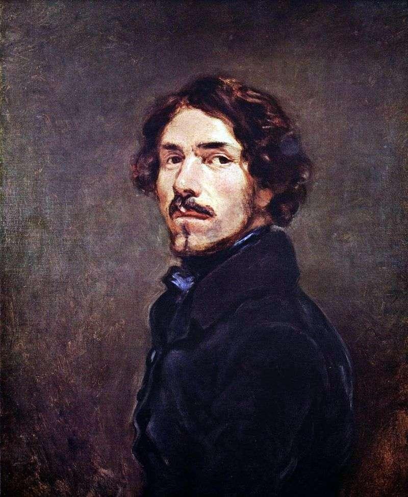 Autoportret   Eugene Delacroix