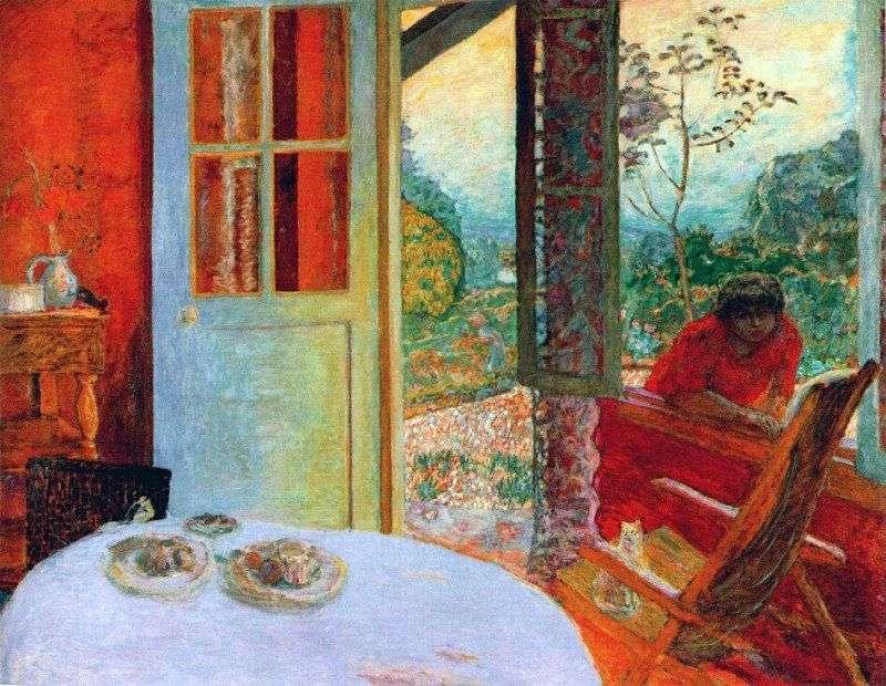 Wyżywienie w wiejskim domu   Pierre Bonnard