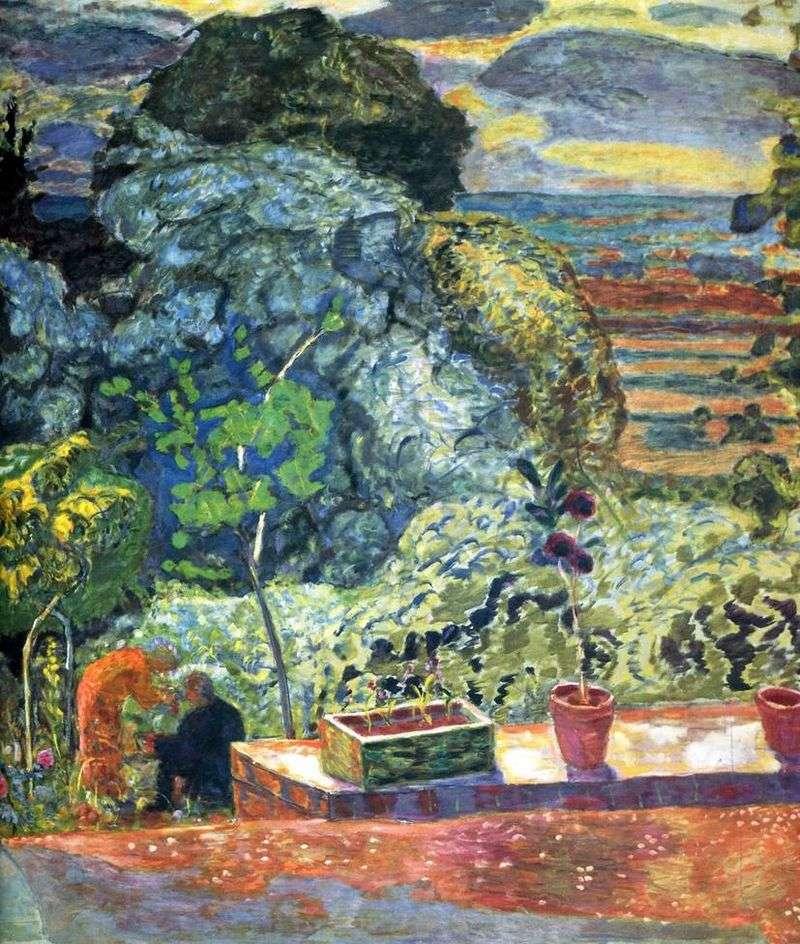 Taras   Pierre Bonnard