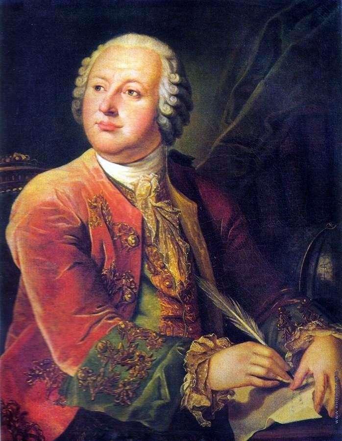 Portret M. V. Łomonosowa   Leonty Miropolsky