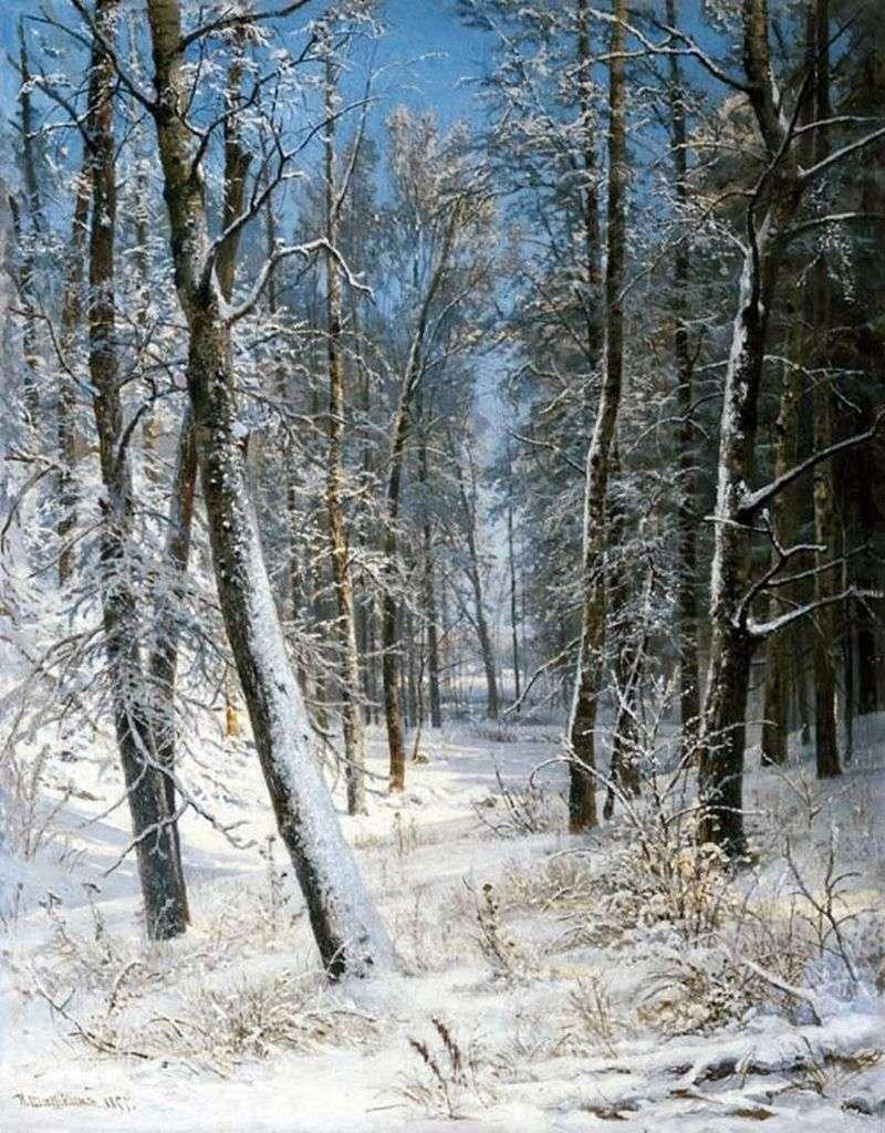 Zima w lesie (Mróz)   Iwan Szyszkin