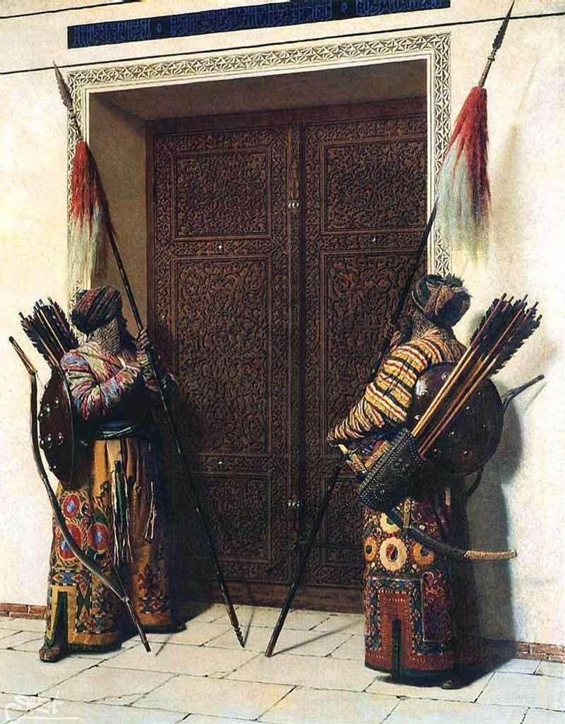 Drzwi Timura (Tamerlan)   Vasily Vereshchagin
