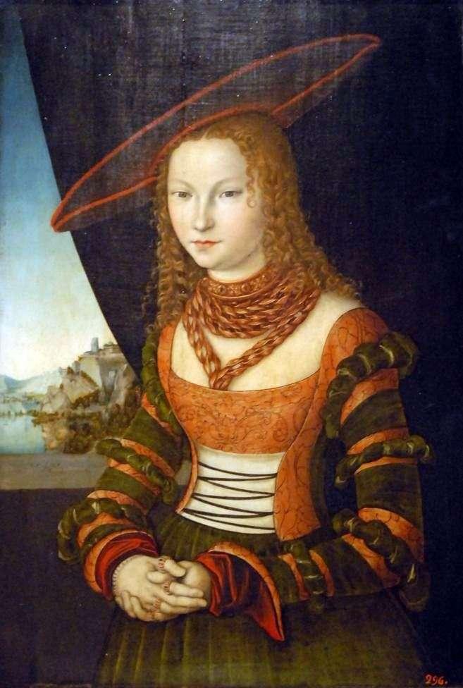 Portret kobiety   Lucas Cranach