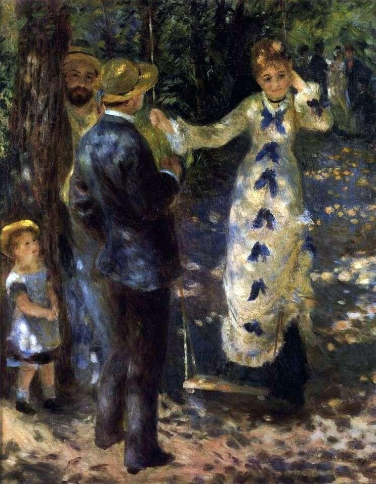 Swing   Pierre Auguste Renoir