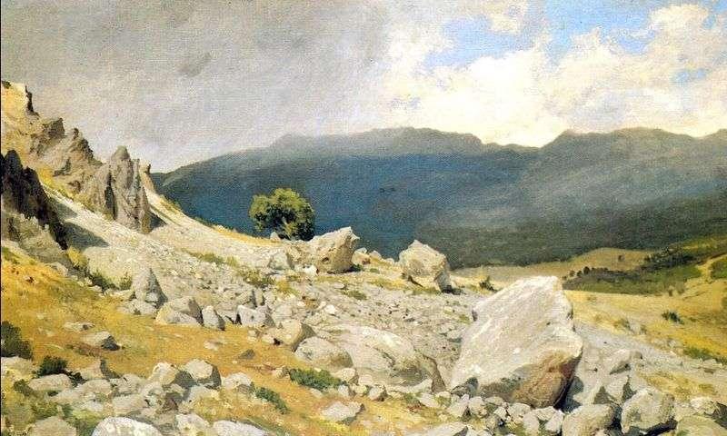 Z okolic Gurzuf   Iwan Szyszkin