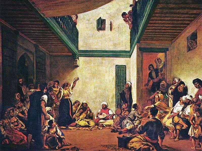 Żydowskie wesele   Eugene Delacroix