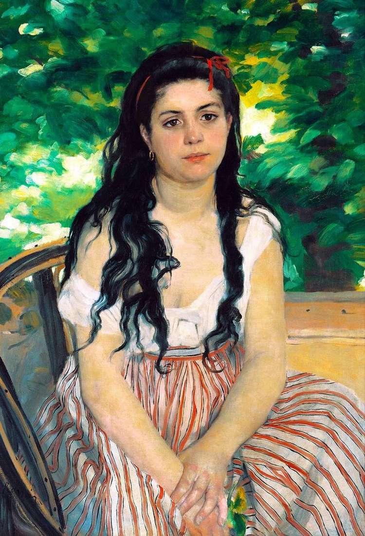 Lato (Cyganka)   Pierre Auguste Renoir