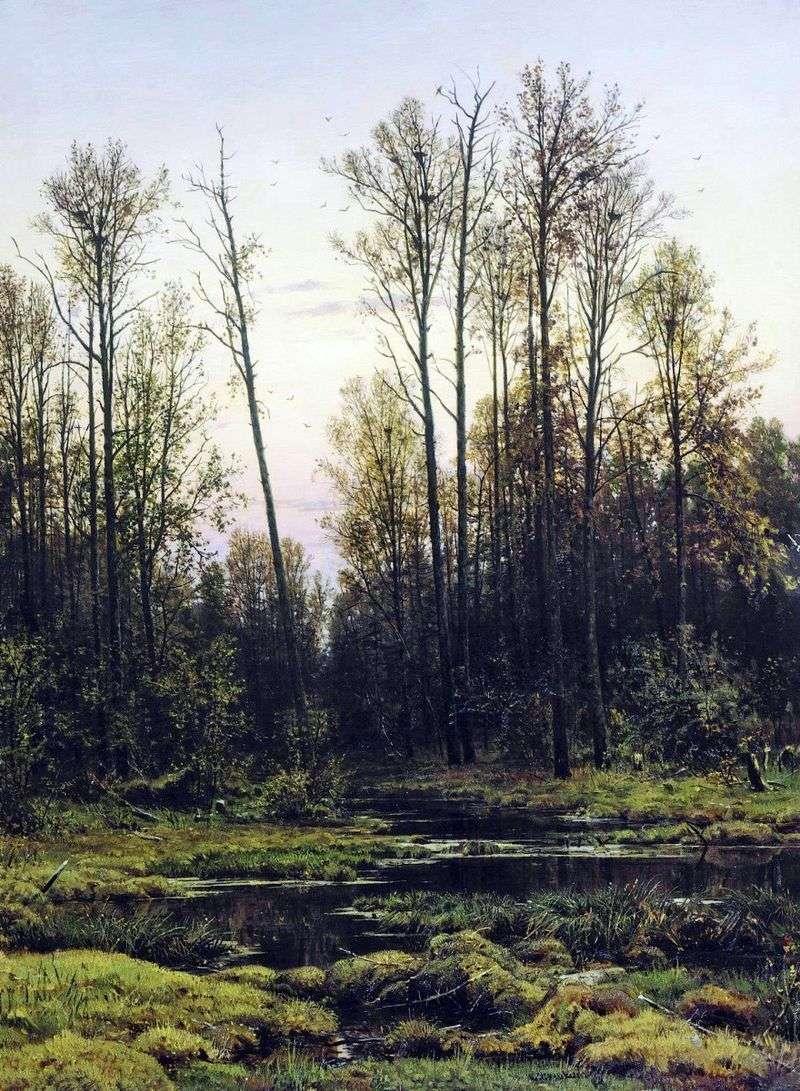 Las na wiosnę   Iwan Szyszkin
