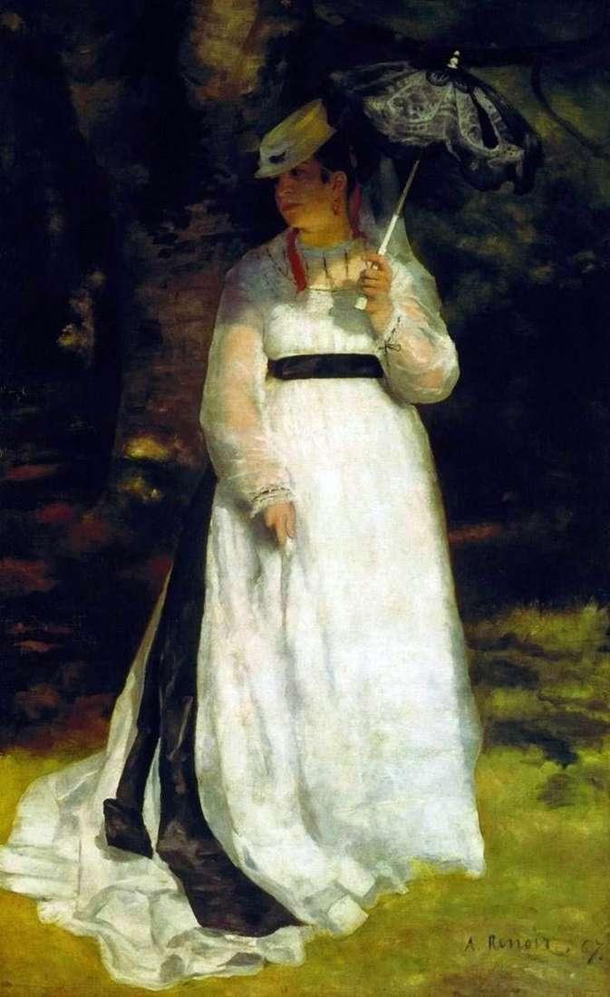 Lisa z parasolem   Pierre Auguste Renoir