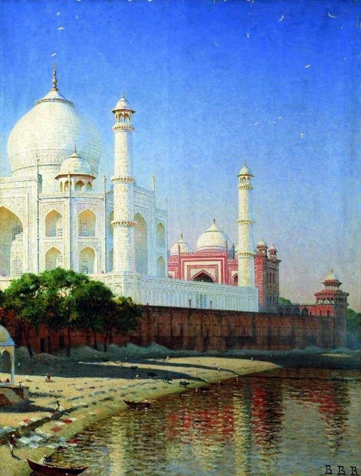 Mauzoleum Taj Mahal   Vasily Vereshchagin