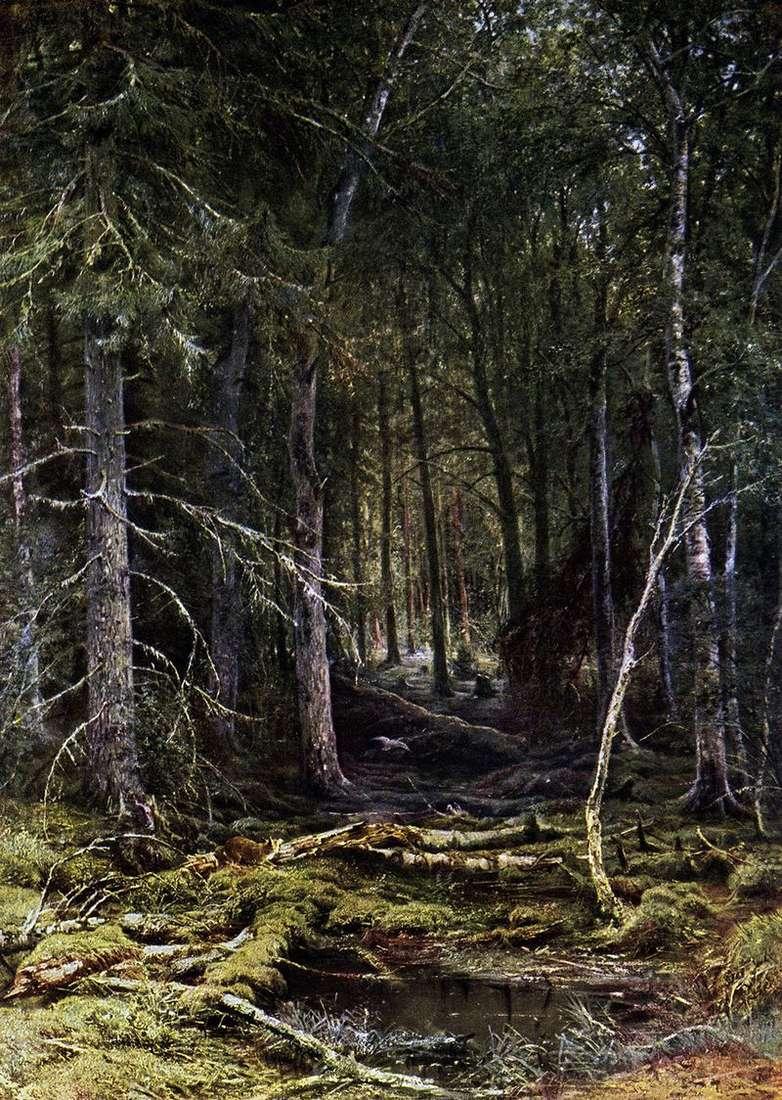 Bezdroża leśne   Iwan Szyszkin