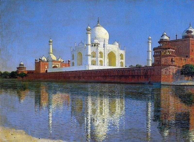Mauzoleum Taj Mahal w Agra   Wasilij Vereshchagin