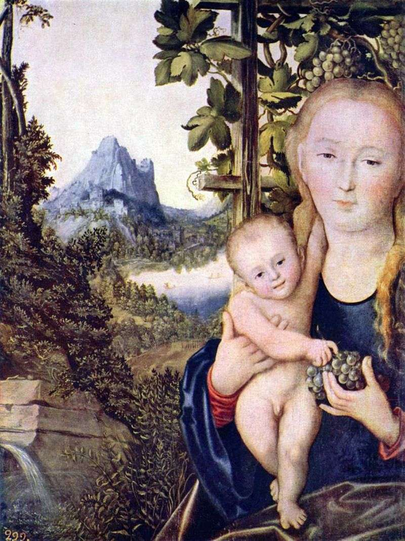 Madonna z Dzieciątkiem   Lukas Cranach
