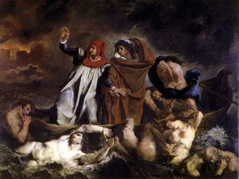 Ladia Dante   Eugene Delacroix