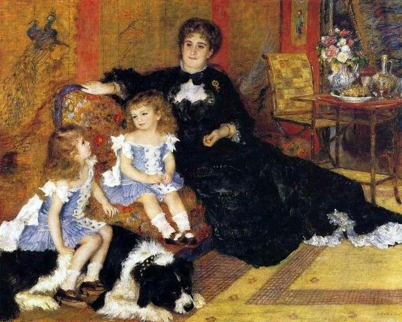 Madame Charpentier z dziećmi   Pierre Auguste Renoir