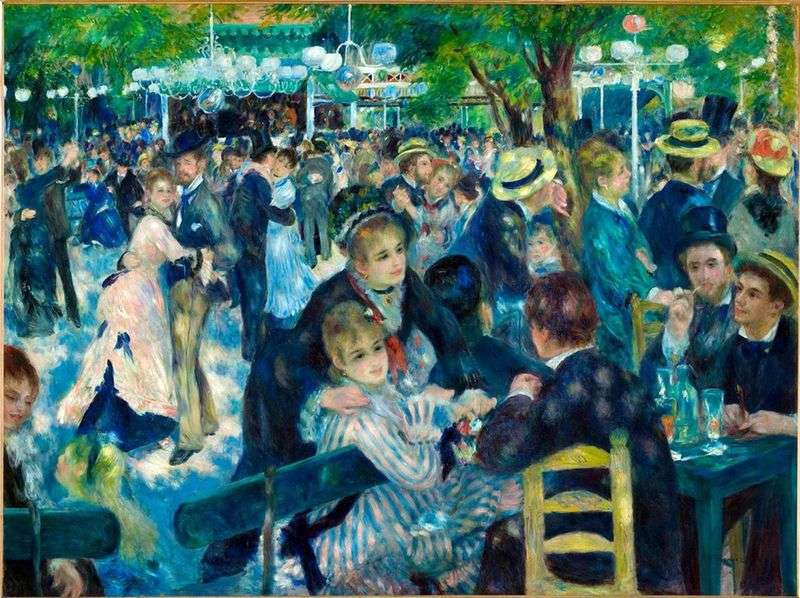 Taniec w Moulin de la Galette   Pierre Auguste Renoir