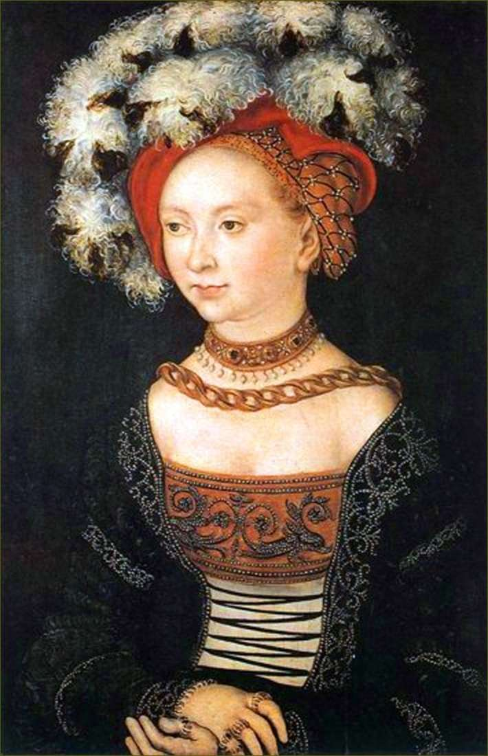 Młoda kobieta   Lucas Cranach