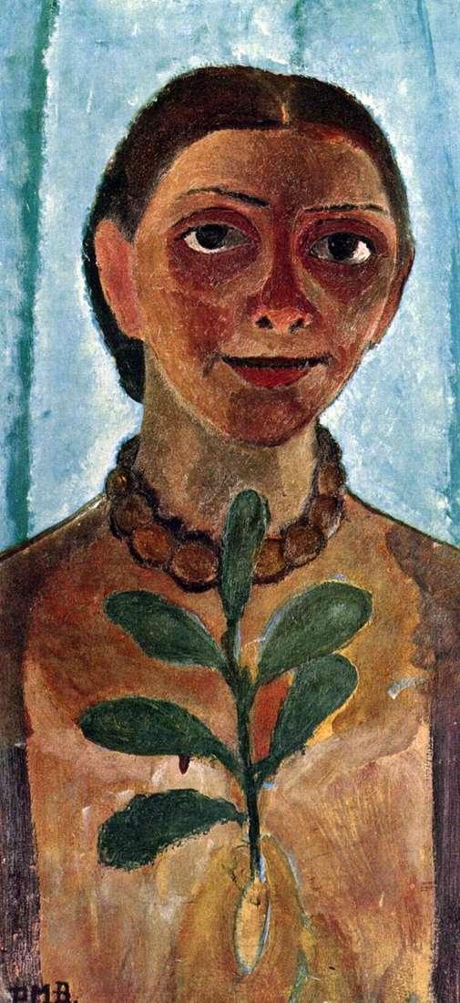 Autoportret z Camellią Paula Moderzon Becker