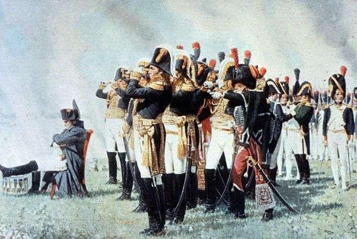 Napoleon na Wzgórzach Borodino   Wasilij Werechagin