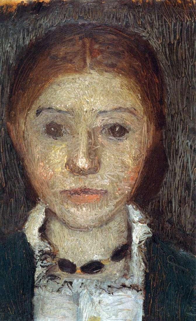 Autoportret z łańcuchem   Paula Modersohn Becker