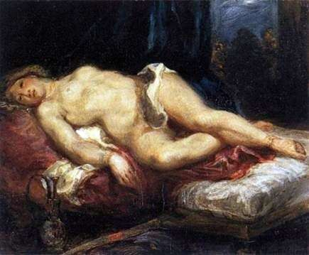 Odalisque   Eugene Delacroix