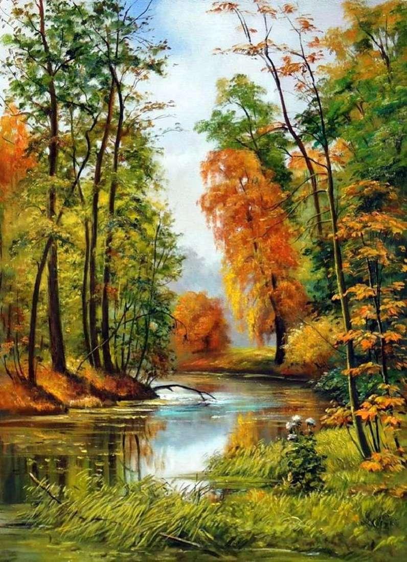 Jesienny krajobraz   Iwan Szyszkin