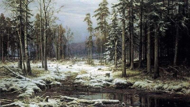 Pierwszy śnieg   Iwan Szyszkin