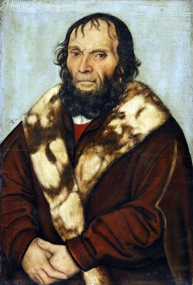 Portret dr Johanna Shiring   Lukas Cranach