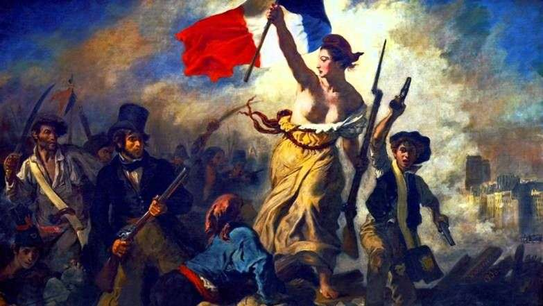 Wolność wiodąca ludzi (Wolność na barykadach)   Eugene Delacroix