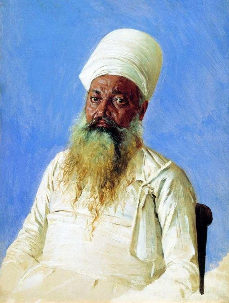 Ksiądz Pars (czciciel ognia). Bombaj   Wasilij Werechagin