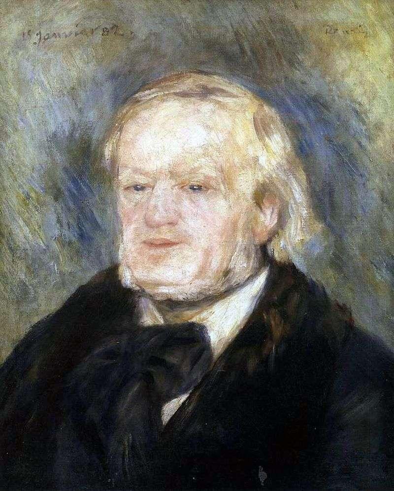 Portret Wagnera   Pierre Auguste Renoir