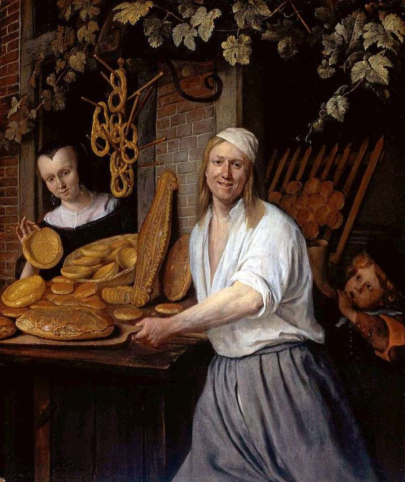 Baker Astward i jego żona Katharina   Jan Steen