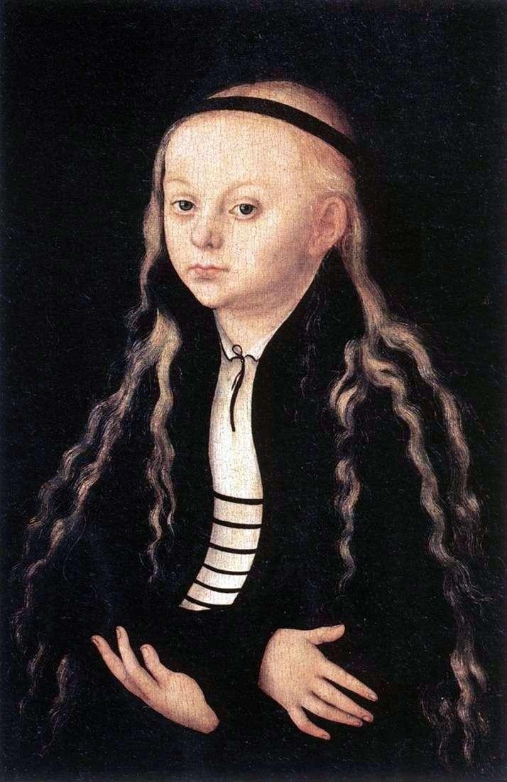 Portret Magdaleny Lutra   Lukas Cranach