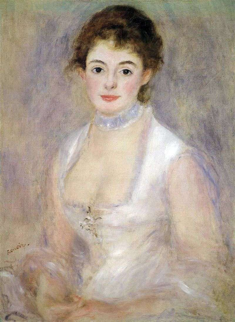 Portret Henrietty Henriot   Pierre Auguste Renoir