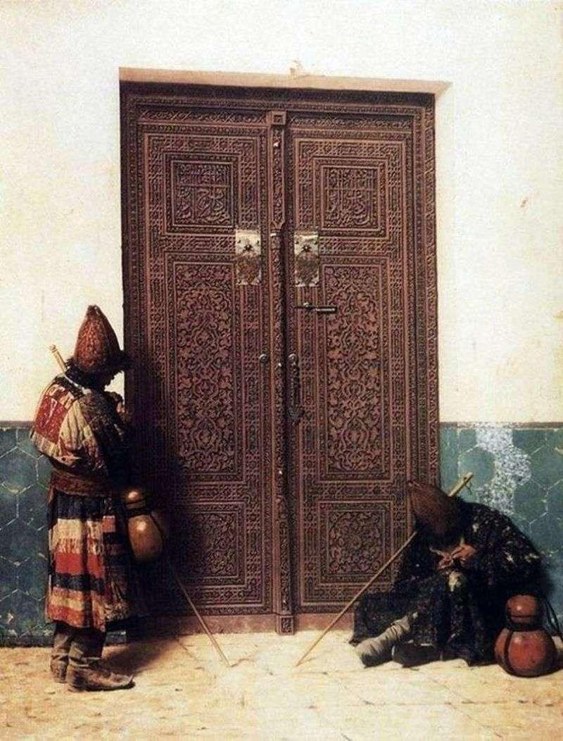 Przy wejściu do meczetu   Wasilij Vereshchagin