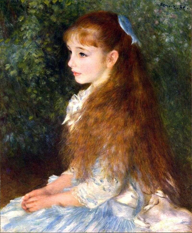 Portret Irene Caen dAnverse   Pierre Auguste Renoir