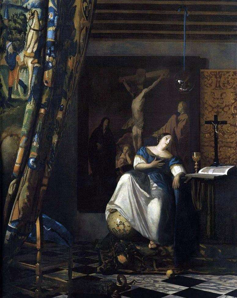 Alegoria wiary   Jan Vermeer