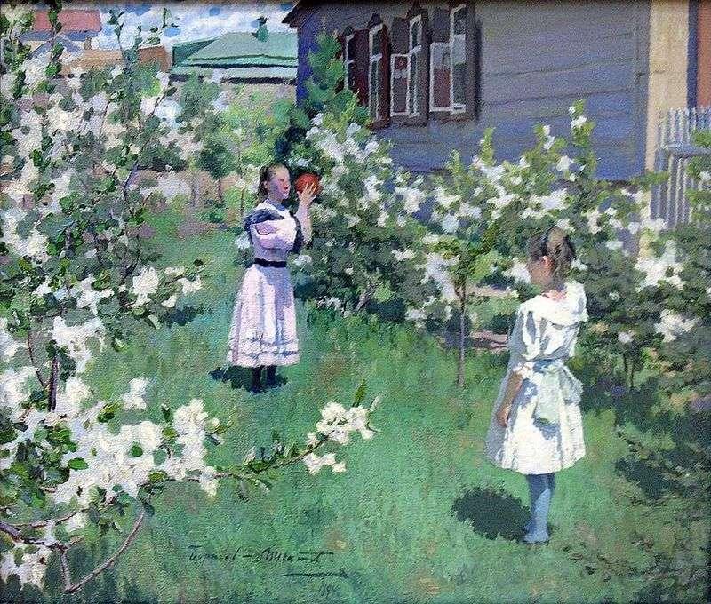 Może Kwiaty   Victor Borisov Musatov