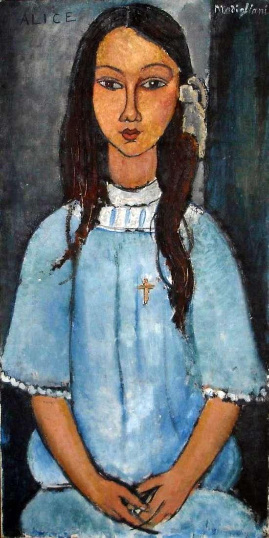 Alice   Amedeo Modigliani