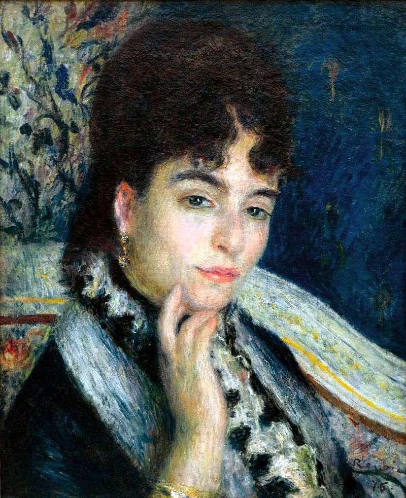 Portret Madame Alphonse Dade   Pierre Auguste Renoir